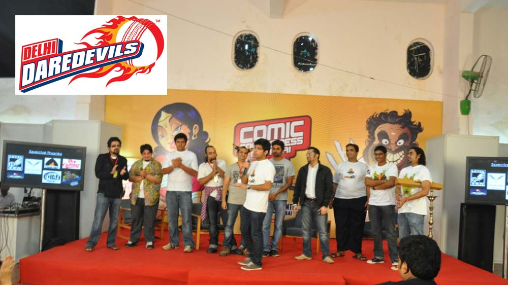 BLI brings Delhi Daredevils and Diamond Comics together
