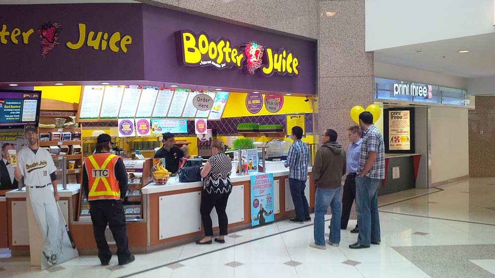 Booster Juice to organise Investor Day for aspiring franchisees