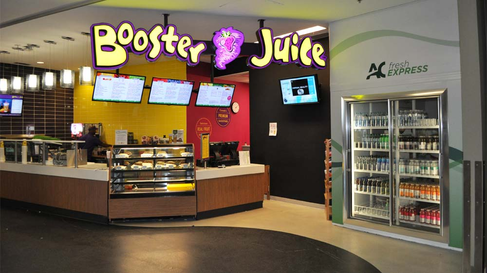 Booster Juice to strengthen its presence