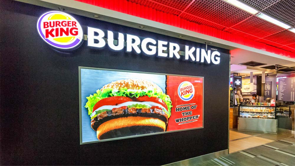 Burger King teams up wid McDonald's for a day