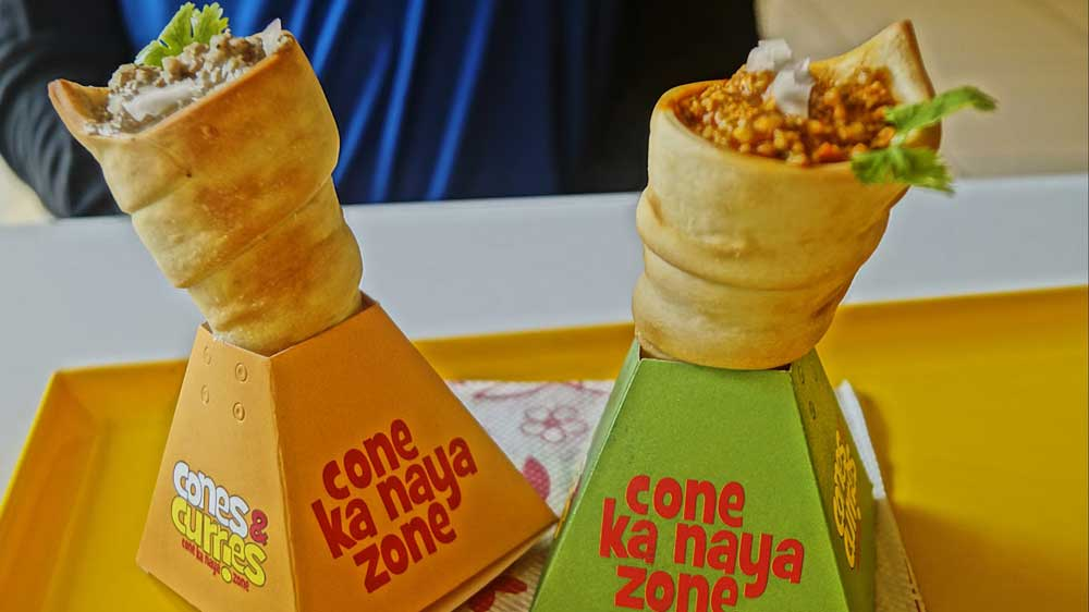 Cones & Curries adding the WOW factor for Snack Junkies