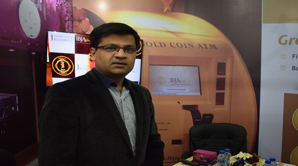 Get an experience of using India's first gold coin ATM