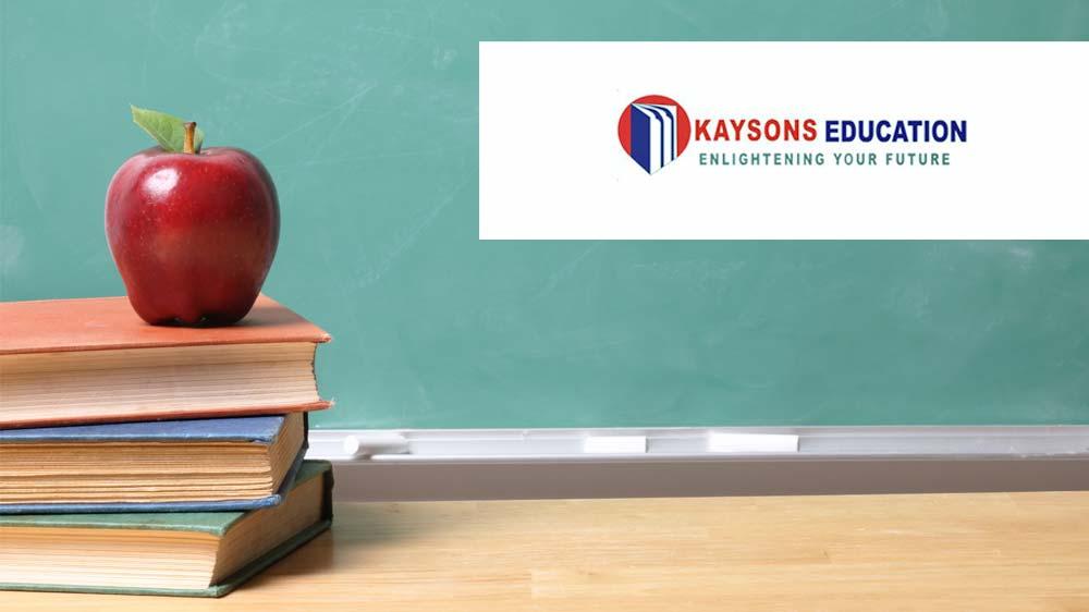 Kaysons Education Pvt. Ltd associates with Francorp