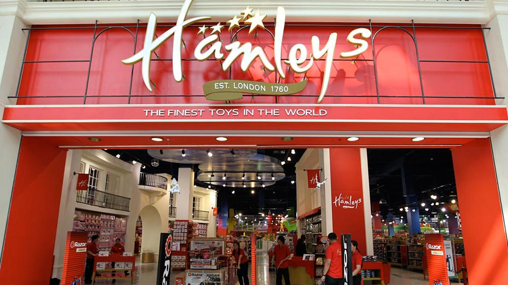 Reliance seals franchise deal with the world`s largest toy shop, Hamleys