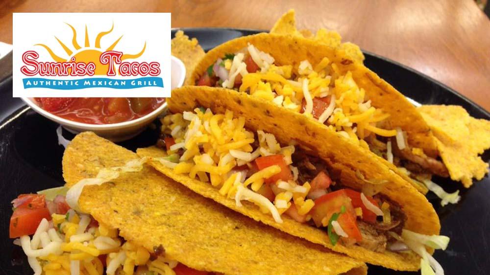 Sunrise Tacos planning Indian foray