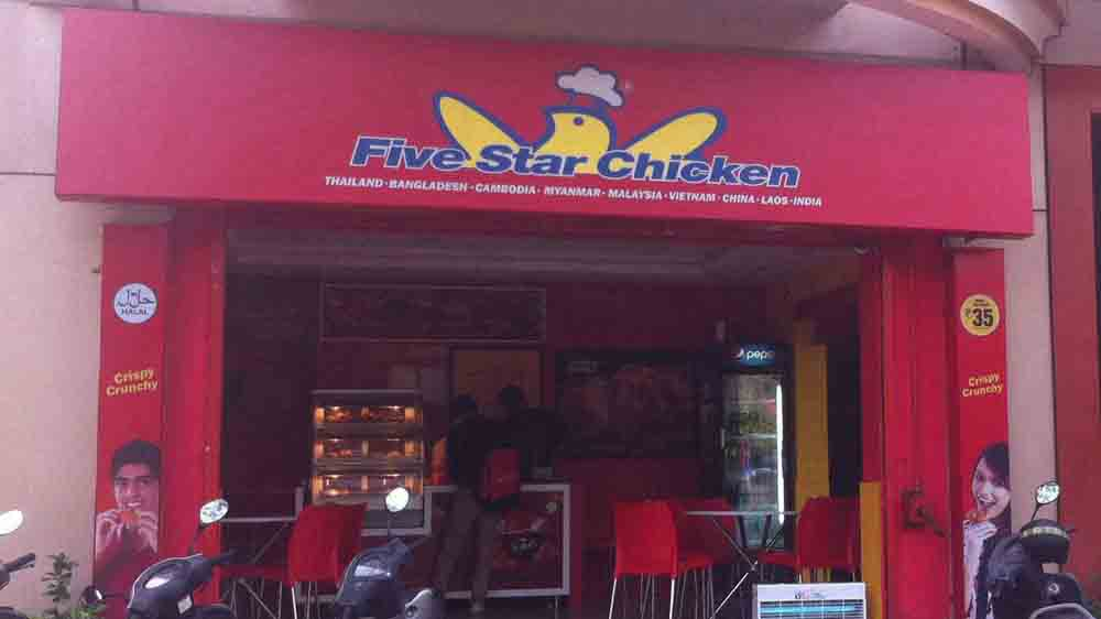 Five Star Chicken fails to satisfy the Indian palette; shuts 133 outlets in India