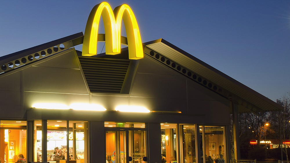 Global fast food chain McDonald sales rises 6%