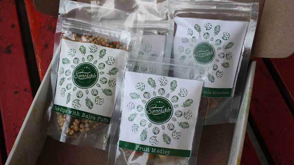 Health food brand Snackible secures funding from Mumbai Angels, 1Crowd