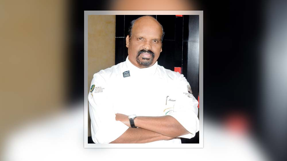 Chef Ramasamy Selvaraju awarded with 'Best Chef Award'