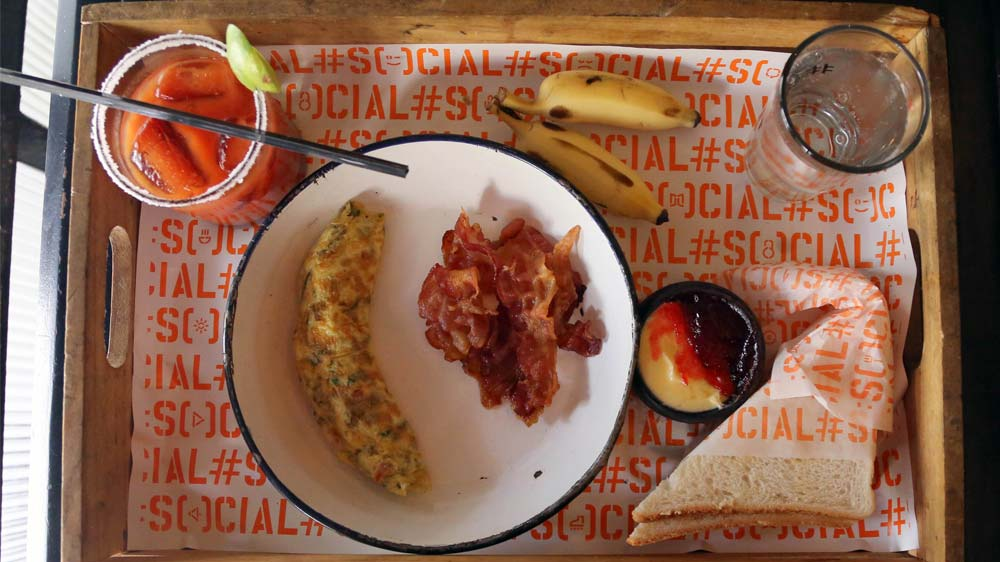 Discount on the Last Night @ Social Hangover Breakfast