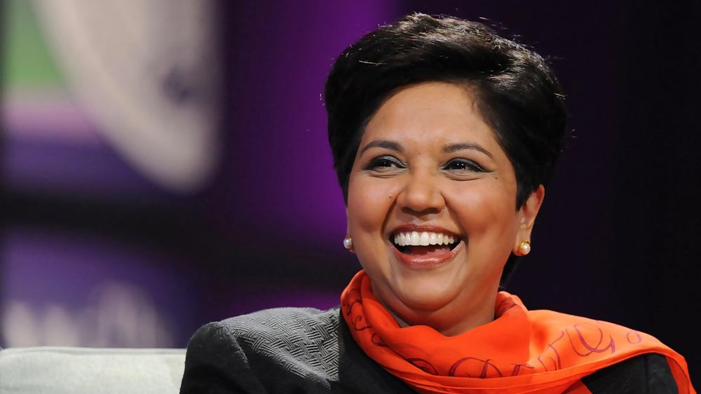 Fortune ranks PepsiCo's Indra Nooyi third most powerful woman in business