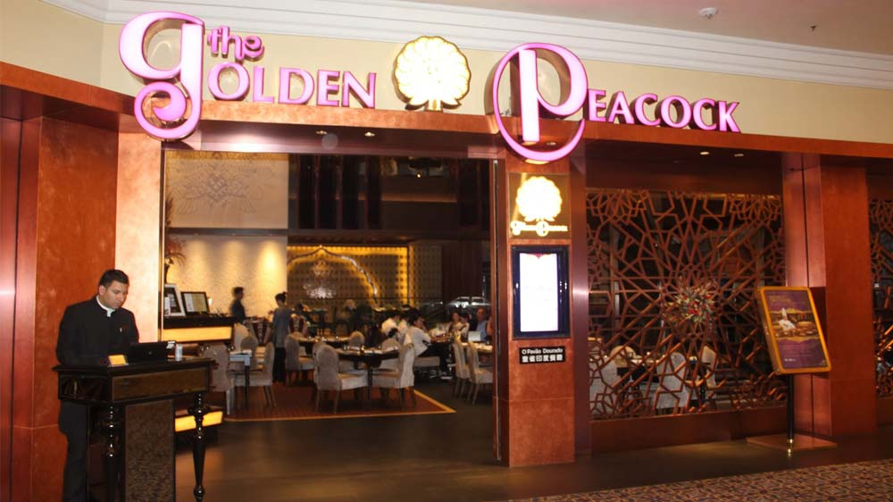 Golden Peacock receives Michelin Star