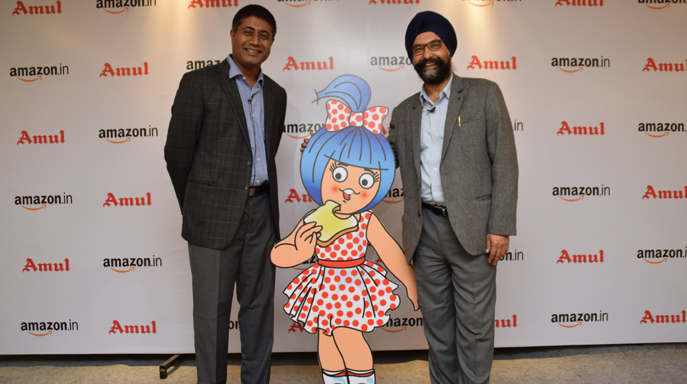 Amul - 'The Taste of India' now available in the US through Amazon's Global Selling Program