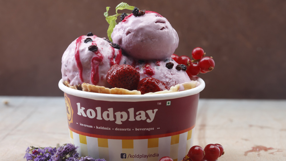 Koldplay launches a range of new ice cream flavours, sundae combos and thick shake combos
