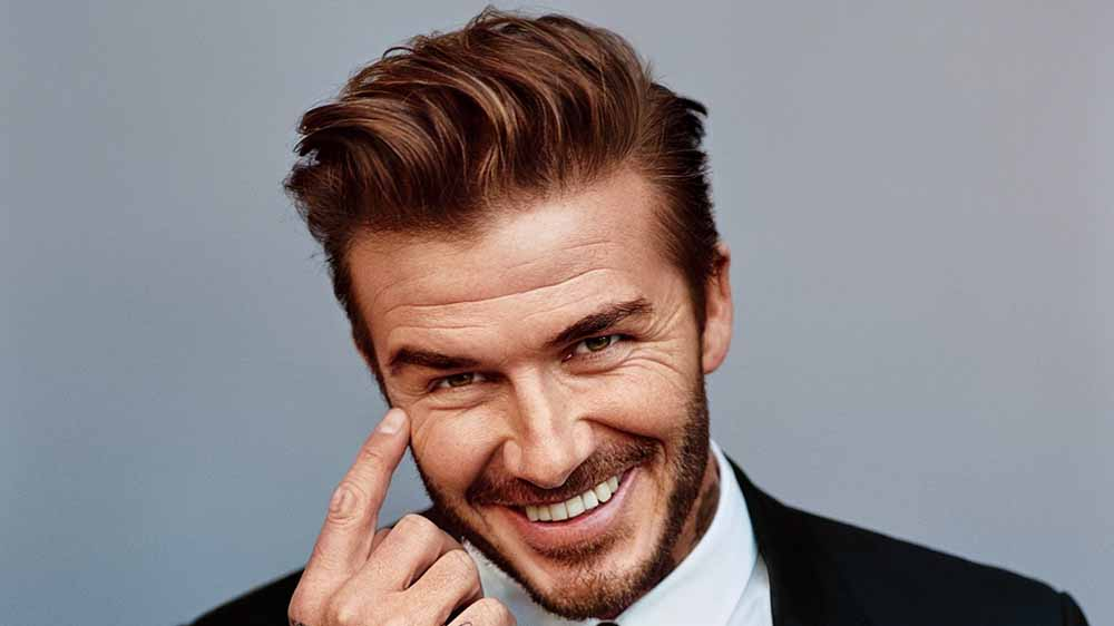 David Beckham Launches L'Oreal Men's Grooming Product