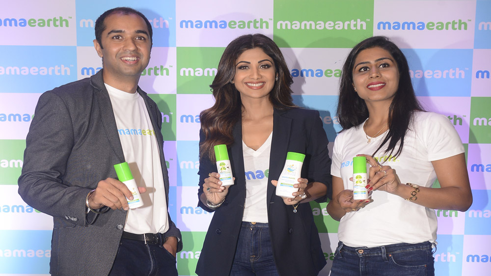 babycare startup Mamaearth gets Equity Backing From Shilpa Shetty