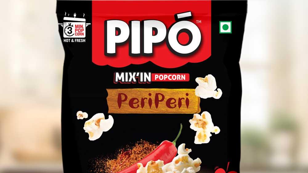 Modi Naturals adds Peri-Peri flavour to its premium quality popcorn portfolio, PIPO