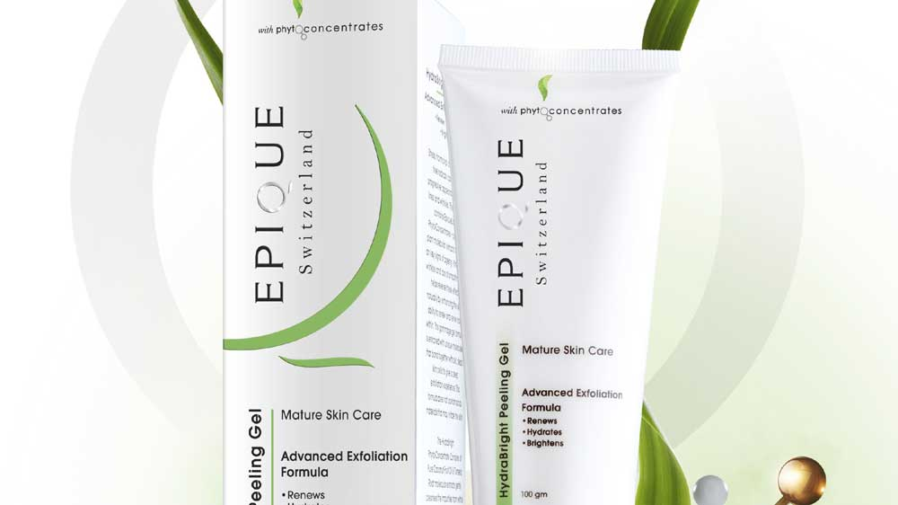 Epique introduces Natural Hydra Bright Peeling Gel with Gommage Action