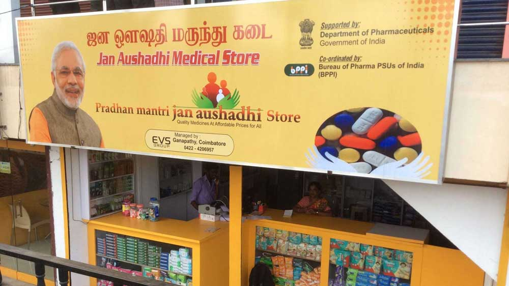 Govt looks to launch 2,500 more Jan Aushadhi stores by 2020