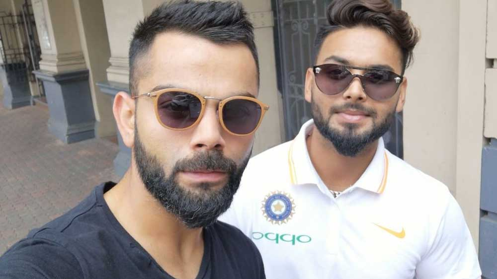 Virat Kohli & Rishabh Pant to promote Himalaya Men face care range