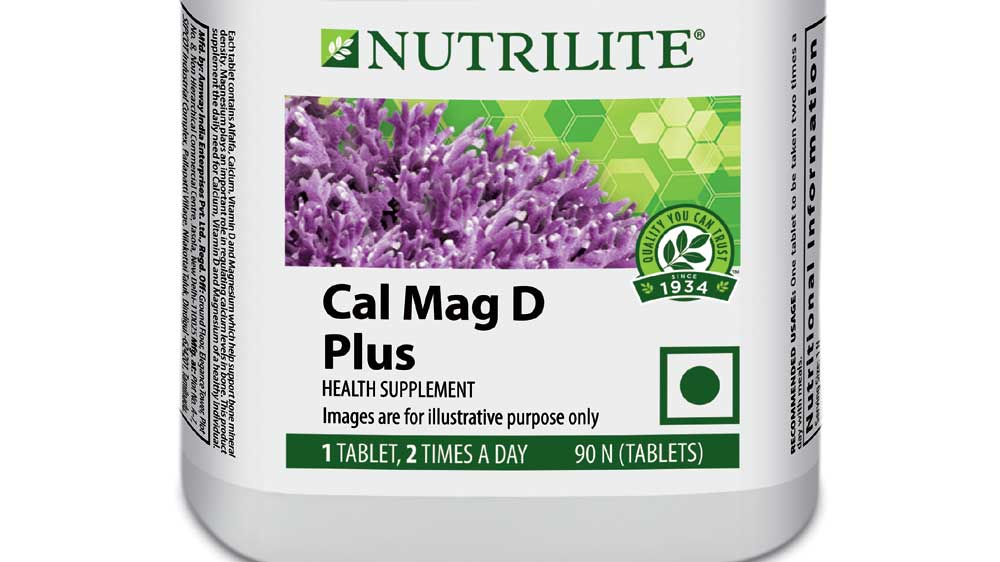Amway India strengthens its Nutrition portfolio; Launches Nutrilite Cal Mag D Plus
