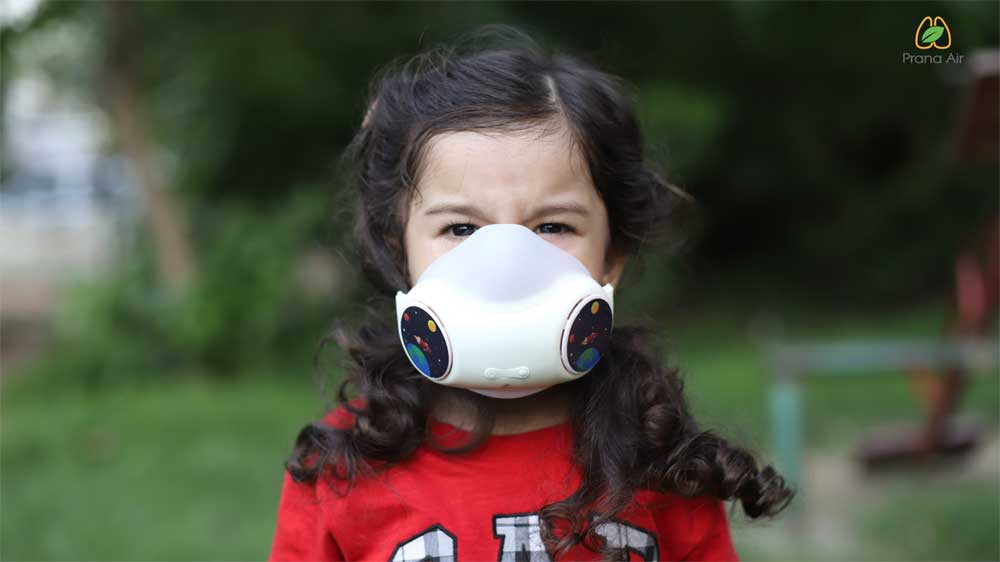 Prana Air Launches Junior Anti-Pollution Mask exclusively for children