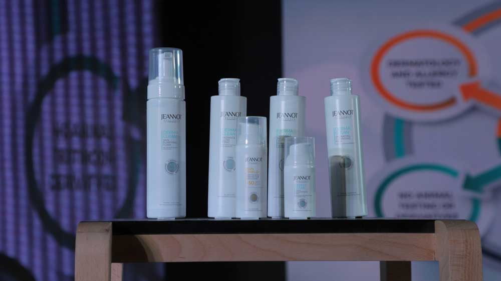 Ekta Cosmetics launches a new skincare brand 'Jeannot Ceuticals'