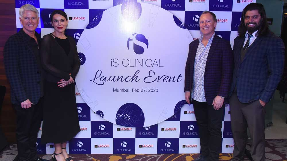 America's Luxury Skincare Brand iS Clinical unveils its products & services in India