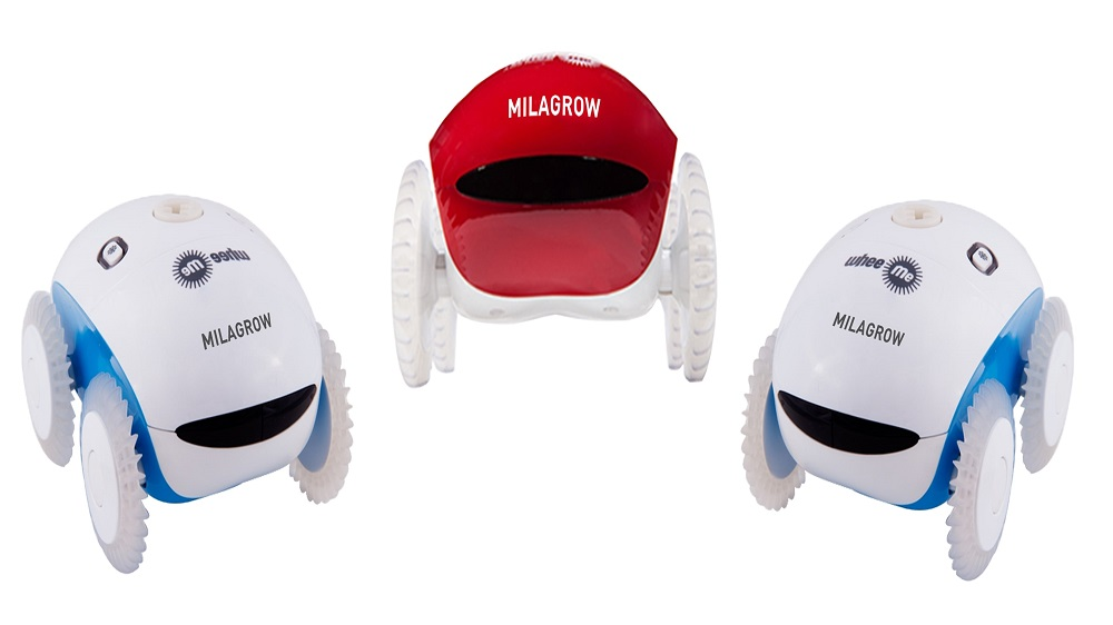 Milagrow unveils Back Massaging Robot
