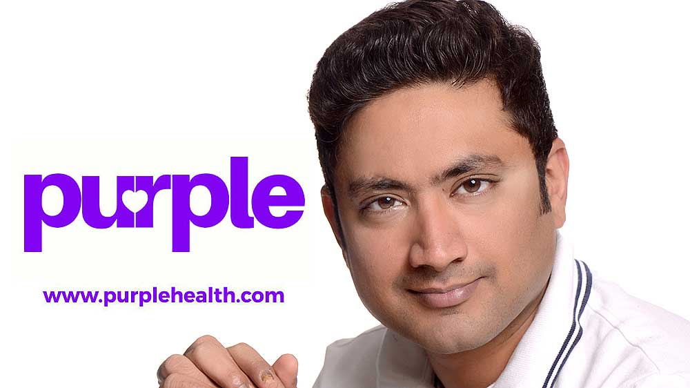 Ex-Reliance Wellness Head Dr Nagarjun Mishra joins PurpleHealth.com core team