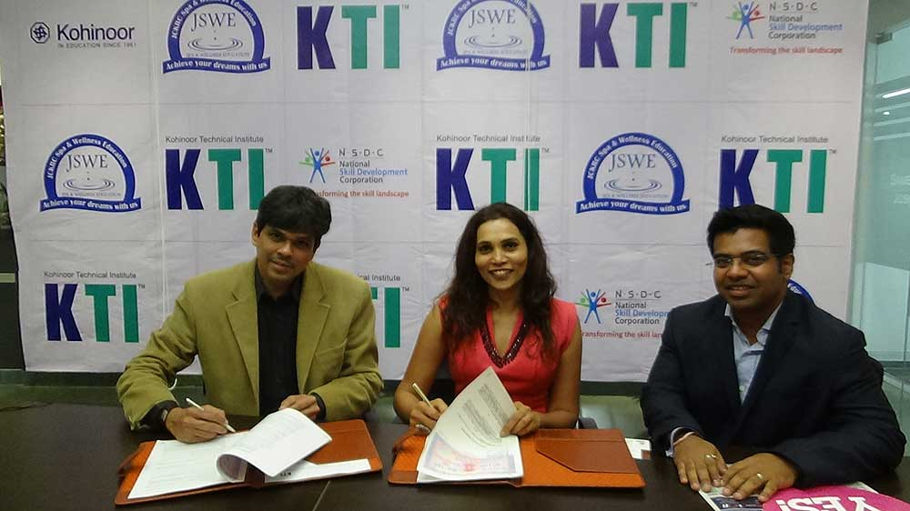 JSKRC wellness tie-up with Kohinoor Technical Institute to lift training standards