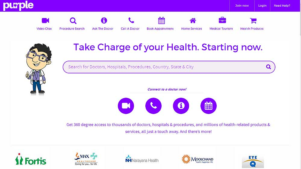 Health on demand startup PurpleHealth.com raises $100,000 from Katabole Technology Venture