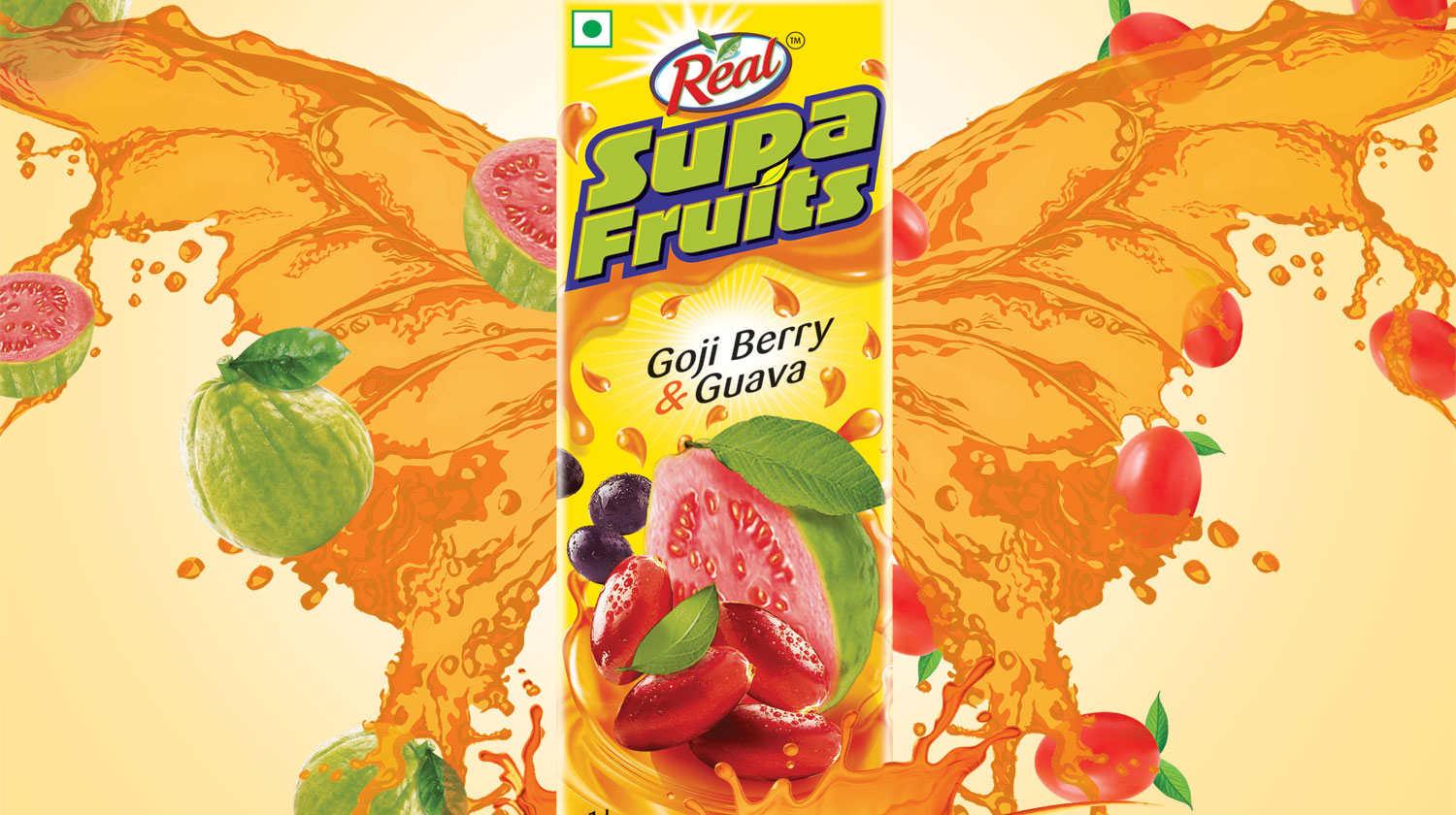 ​WOW Design unveils new brand identity for Dabur's Real Activ range