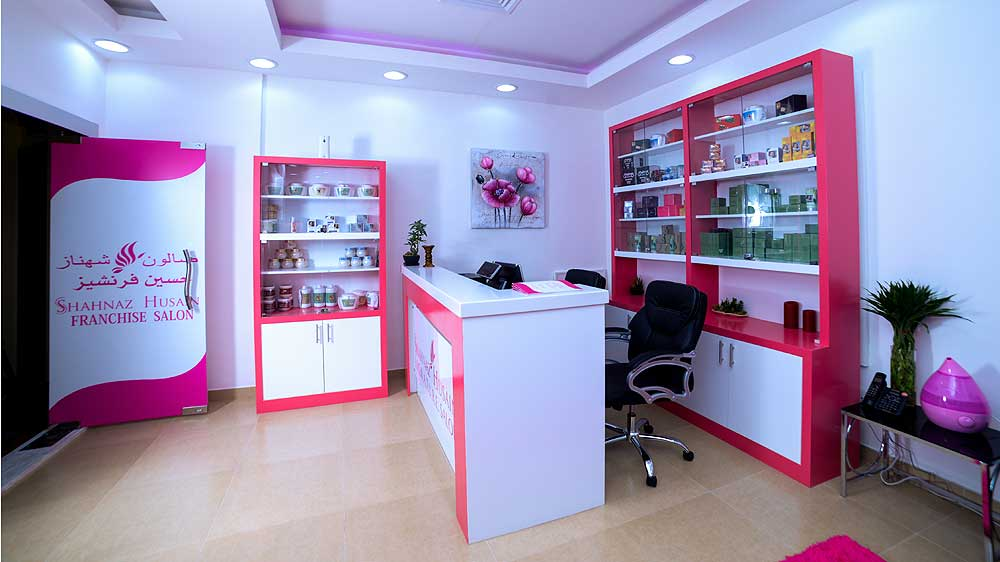 Shahnaz Husain opens Herbal Salon in Salmiya city of Kuwait
