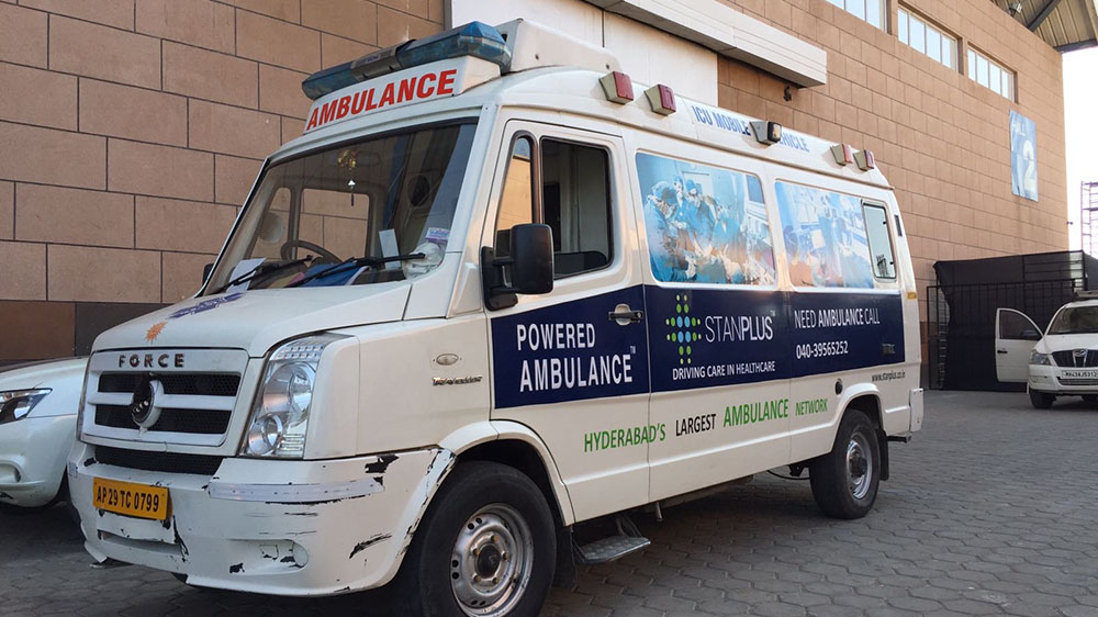 Hyderabad based medical transportation raises $1.1 Million Fund